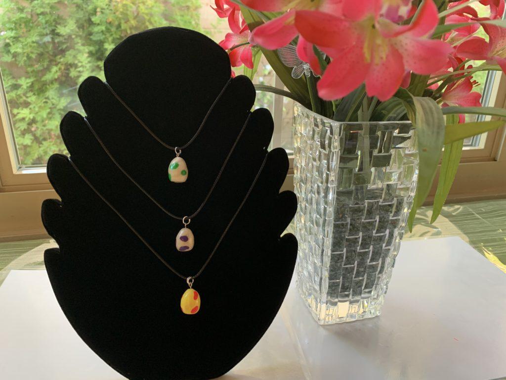 Pogo Egg Necklace